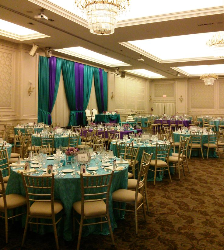 Purple & Teal with pearls & lace wedding by Sonia Denny Events