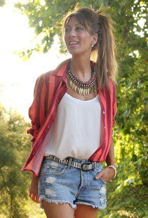 Zara  Camisas / Blusas and Pull   & Bear  Jeans