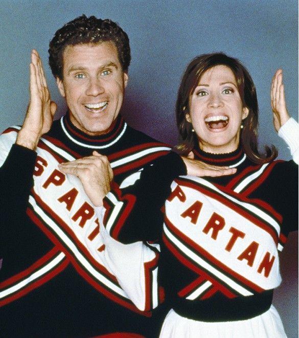 Will Ferrell & Cheri Oteri as the Spartan Cheerleaders