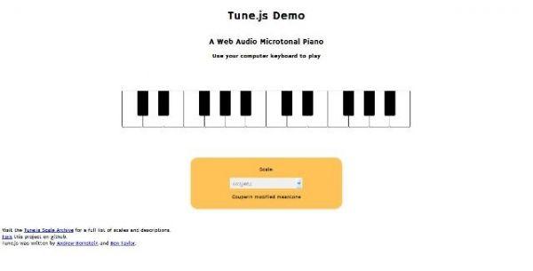 Une bibliothèque audio pour micro-intervalles JavaScript - Tune.js  Tune.js est une bibliothèque audio pour générer des micro-intervalles sur vos sites web.   http://www.noemiconcept.com/index.php/fr/departement-communication/news-departement-com/206932-webdesign-une-biblioth%C3%A8que-audio-pour-micro-intervalles-javascript-tunejs.html