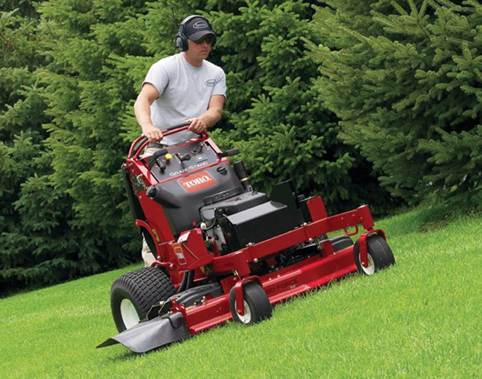 Get Your Landscaping Perfect With A Toro Stand On Mower