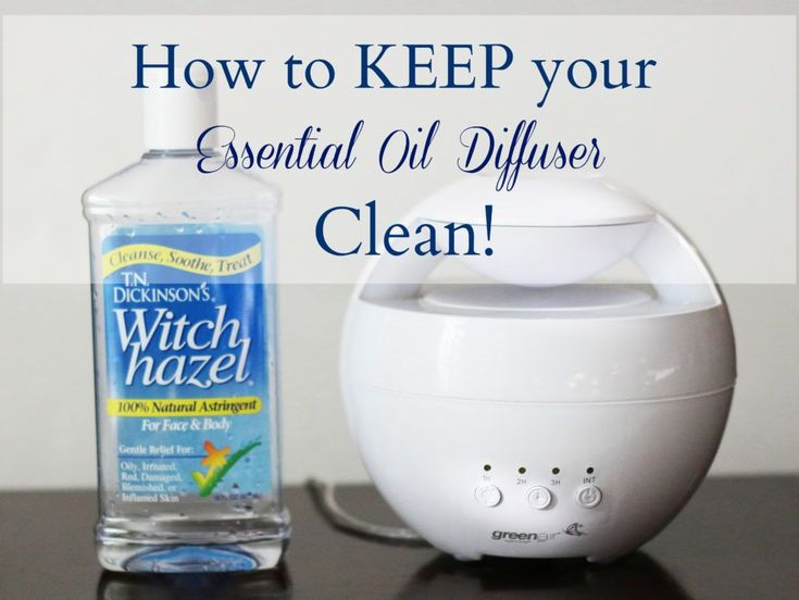 how to keep your essential oil diffuser clean exercise health pinterest essential oils. Black Bedroom Furniture Sets. Home Design Ideas