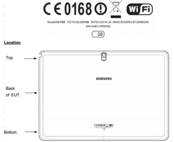 Samsung's 12.2 Inch Tablet Swings By The FCC Again