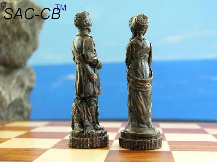 Battle of Waterloo Chess Pieces