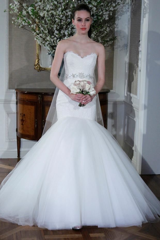 Editor's Pick: Romona Keveza Wedding Dresses. To see more: http://www.modwedding.com/2014/03/24/editors-pick-romona-keveza-wedding-dresses/ #wedding #weddings #fashion