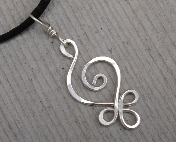 Sterling Silver Celtic Budding Spiral Pendant by nicholasandfelice