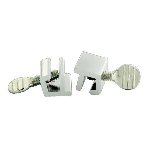 Pair of Patio Sliding Door and Window Screw Pin Slide Stops For the simplest form of security, these sliding locks move into position and are tightened with a thumbscrew. A quick screw motion will lock or unlock this sliding stop in any position for versatile and easy security....Learn More