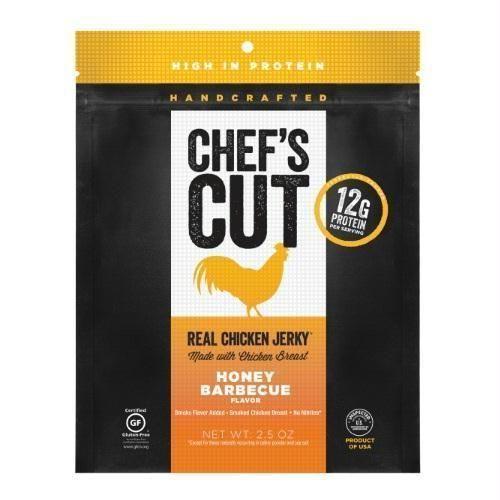 Chef's Cut Real Chicken Jerky Honey Barbeque (8x2.5 Oz) #Bbqchicken