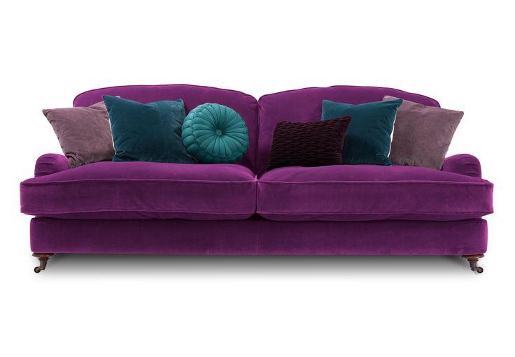 фиолетовые диваны с подушками фото человек обладает