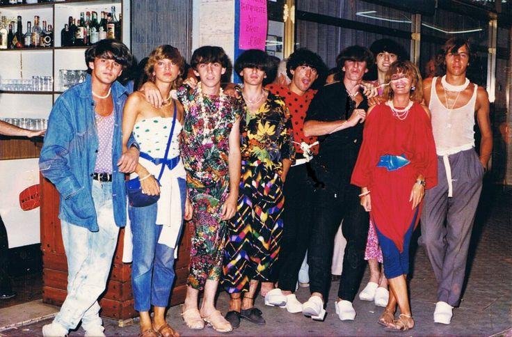 ragazzi di Padova a Jesolo 1979 foto di Damiano Trentin