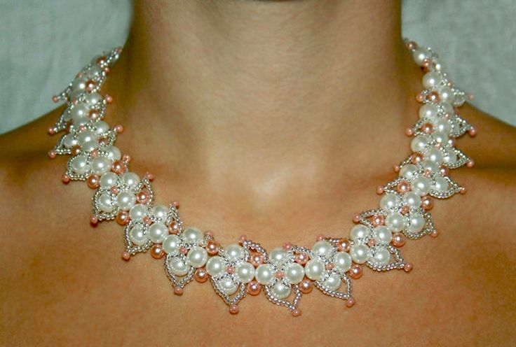 Free pattern for necklace Altera