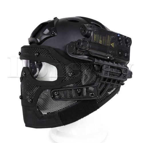 Airsoft Paintball Tactical Fast Helmet Mask Goggles G4 System Protective Gear | Goggles & Masks | Paintballing - Zeppy.io