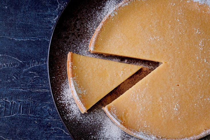 Chef Steven Doherty's lemon and passion fruit tart recipe is given a burst of tangy sweetness with the addition of fresh passion fruit juice.