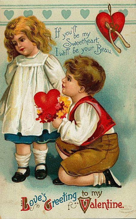 Valentijnskaarten maken, geschiedenis van valentijn , oude valentijnskaarten