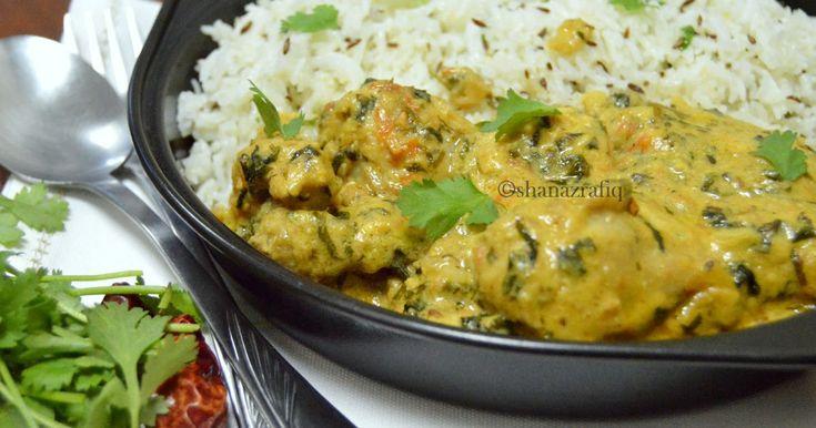 Malai Methi Chicken with Jeera Pulao