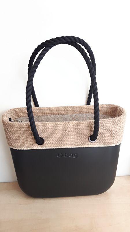 O`Bag hessian trim/ omslag naturel