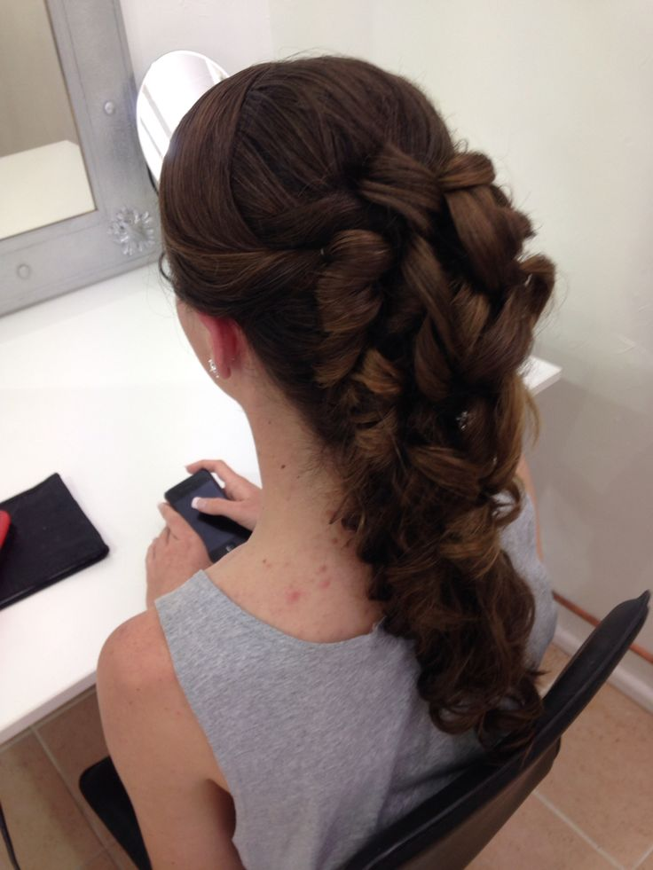 School Formal Hair By Suzie. www.aneyeforstyle.com.au
