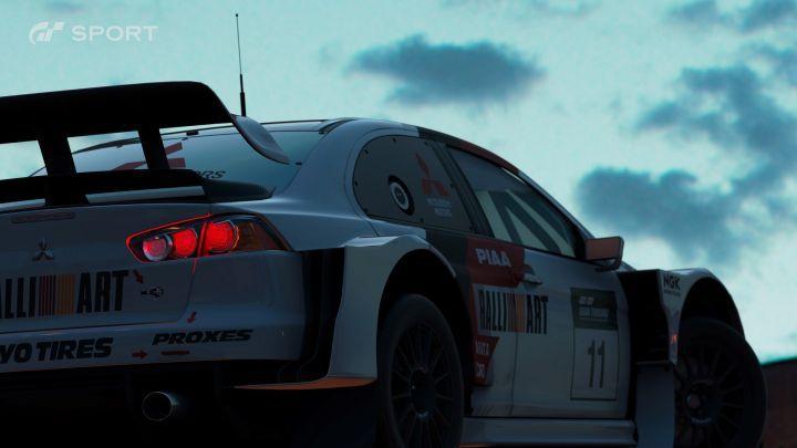 Mitsubishi Lancer Final Edition Gr.B Rally Car Evolution X [CZ4A]