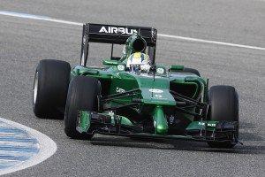 It's a boy! Caterham unveils 2014 F1 car