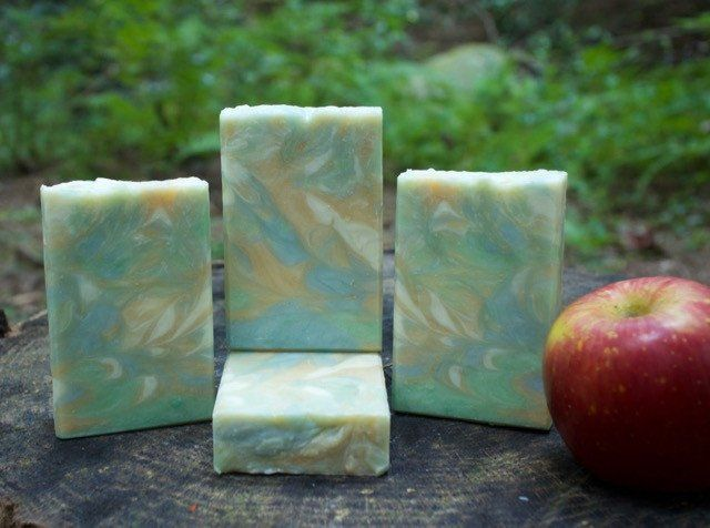 Like an autumn afternoon in an apple orchard, this soap transports you to a peaceful and wonderful place. The fragrance is a blend of juicy apple, pine and balsam. This soap is hand crafted with sever