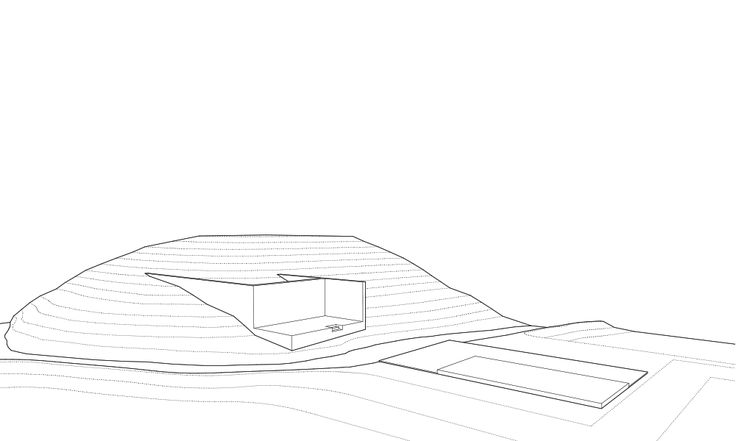 Magic Bus Learning Pavilion, Karjat - Architecture BRIO, India axonometric animation #ConceptSketch #ArchitectureDrawing