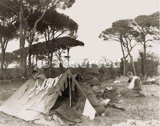 Troops camping near Riva Ridge 10th Mountain