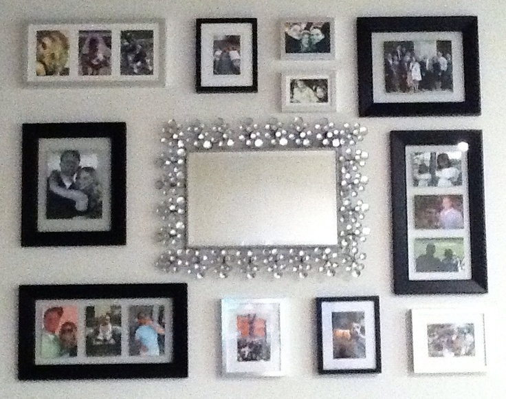 Rhinestone Wall Mirror 7 best craft and diy projects images on pinterest | decorated