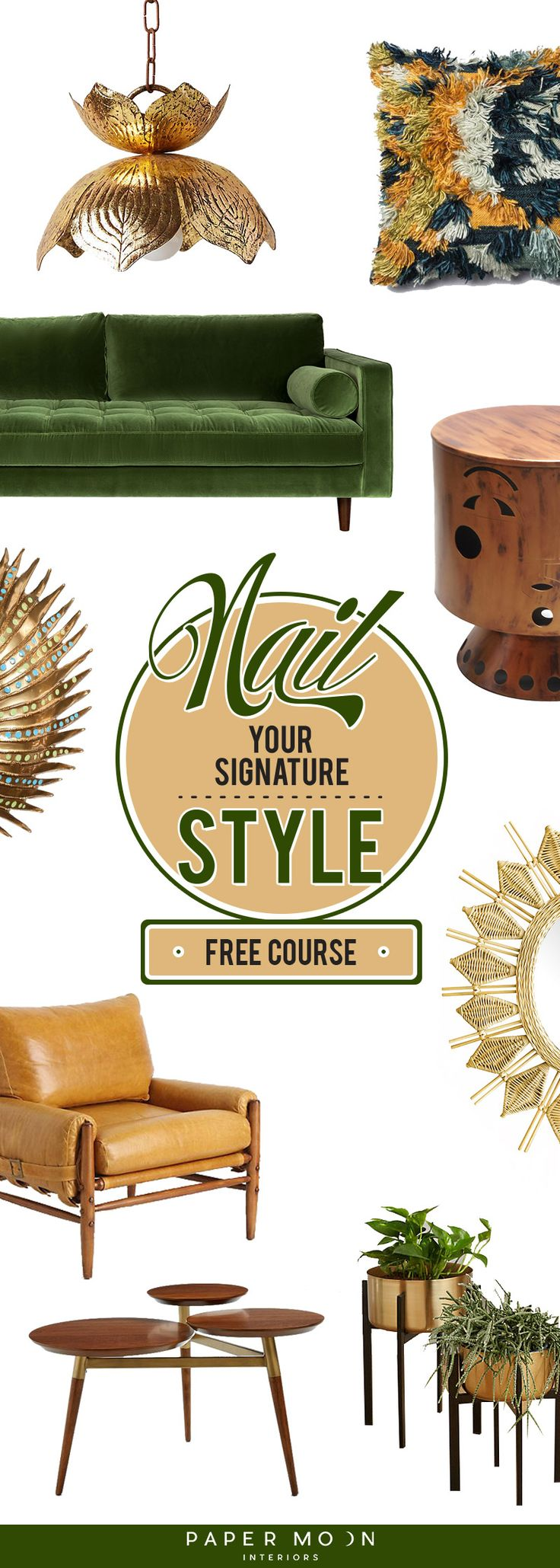 Its Time To Nail Your Signature Interior Design Style With This Free Email Course You