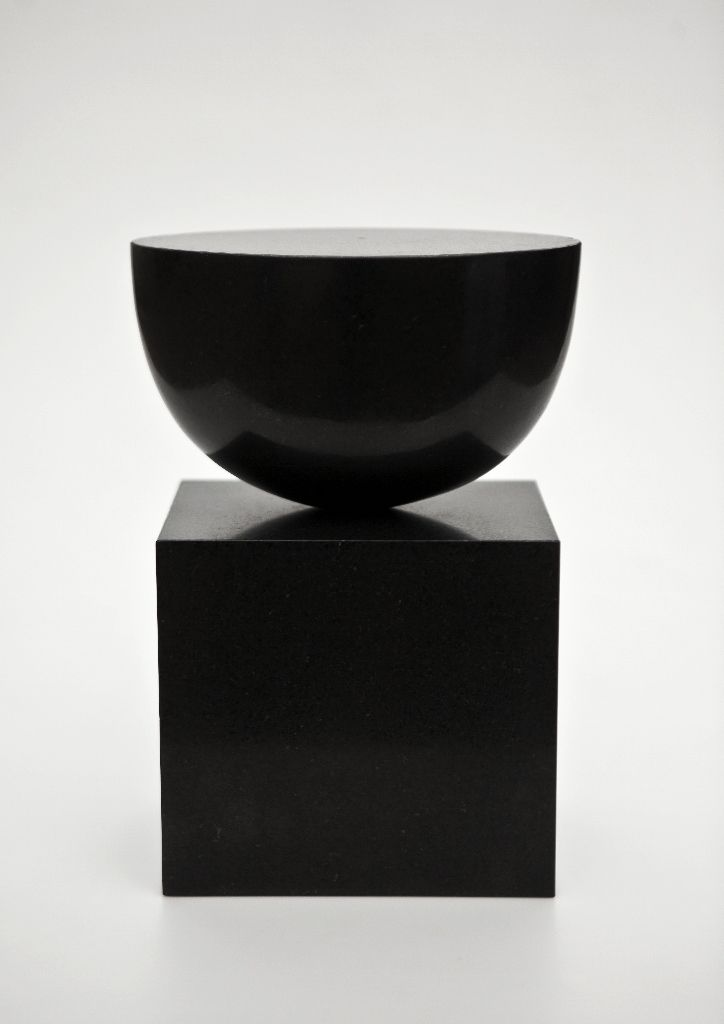 "Danish-born artist Sys Svinding (b. 1960) ""Stille Rejse"", 2011. Diabas (black Swedish Granite). #Dansk #Kunst #Danish #Art"