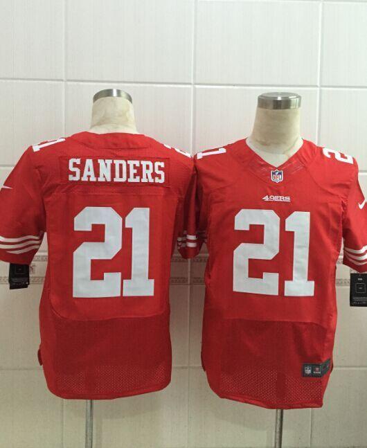 Mens Nike San Francisco 49ers 21 Deion Sanders Elite Limited NFL Jerseys Red http://www.wholesalejerseyclearance.com/san-francisco-49ers_gc120_1_15.html