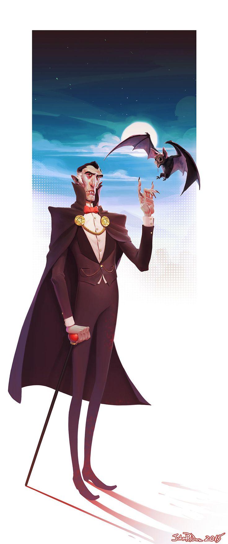 ArtStation - OG Dracula, John Polidora