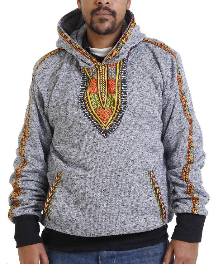 #AFRICANFASHIONOGS Pinterest - @houstonsoho | Nusu Dashiki Hoodie RolaReefa.com
