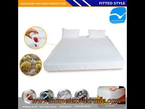 Bamboo Hotselling Waterproof Cooling Mattress Protector