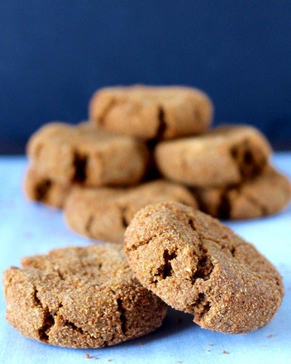 Paleo Gingersnap Cookies