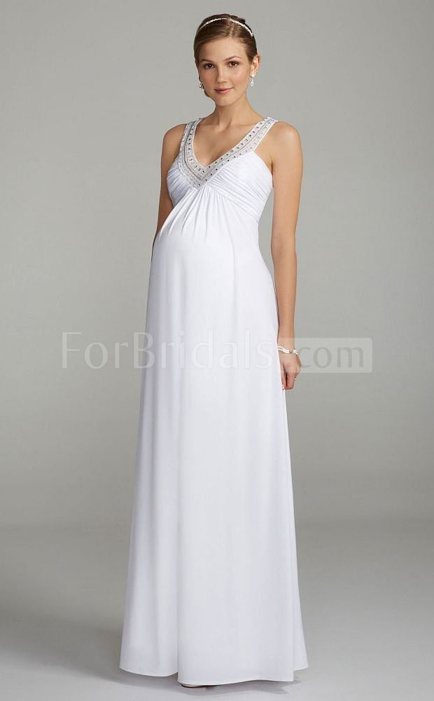 19 best images about pregnancy wedding dress on pinterest for Best wedding dresses for pregnant brides