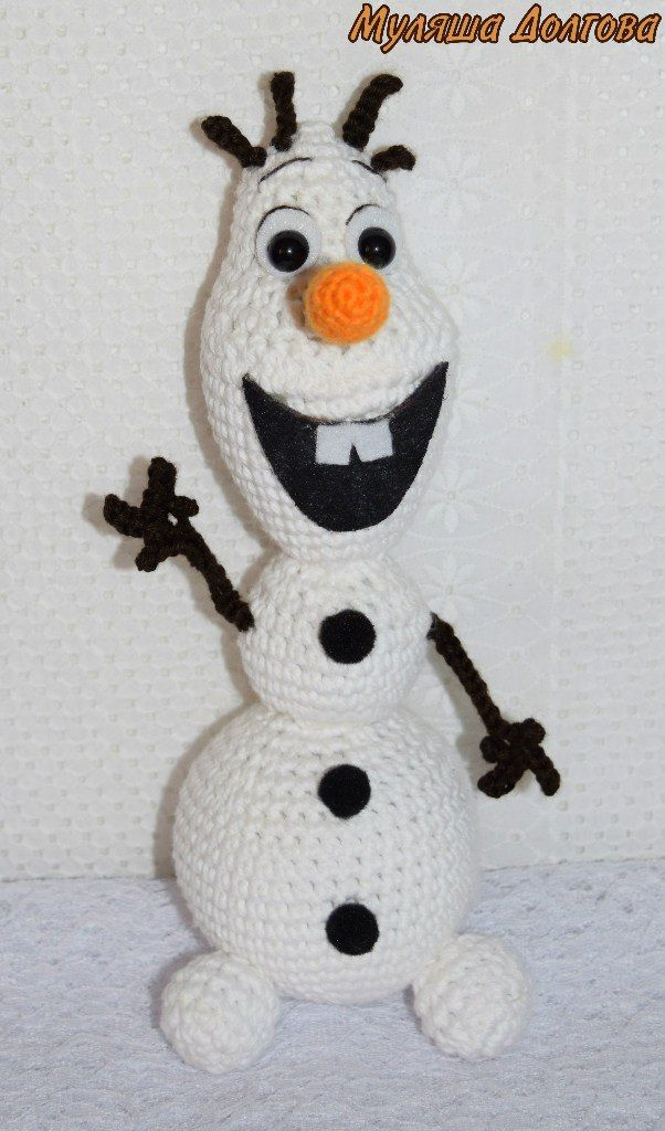 Снеговик Олаф амигуруми. Схема вязания. | Амигуруми — схемы, амигуруми крючком, вязание и игрушки амигуруми. Амигуруми всех стран!
