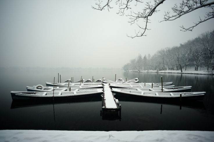 The mesmerizing tranquility of Lau's Field Pier, photgraphed by Hangzhou's talented Han Gang #hangzhou #china #asia #travel #explore #traveler #seasons #winter #hangang