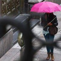 Sigue pronóstico de lluvias y granizo en el Valle de México.