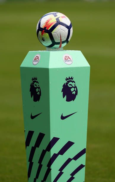The Premiership ball during the Premier League match between West Bromwich Albion and AFC Bournemouth at The Hawthorns on August 12 2017 in West...