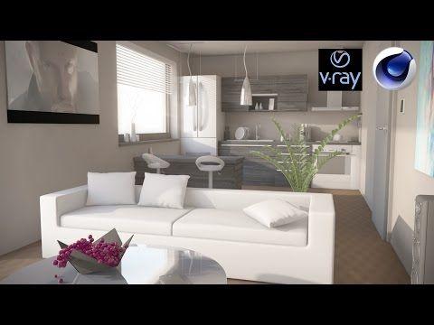 [Tuto Fr] V-ray | Paramétrer un rendu d'intérieur PT 2 | Texturing | + Download Crack - YouTube