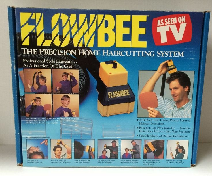 Vintage Original Flowbee Precision Home Haircutting Vacuum