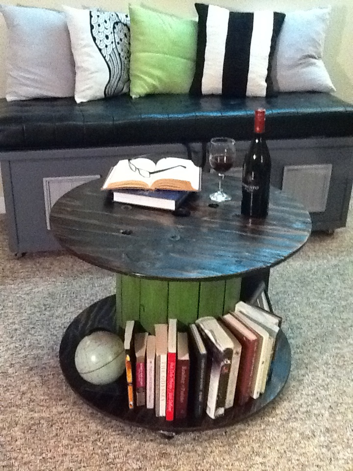 Electrical Wire Spool : Best images about wooden cable spool furniture on