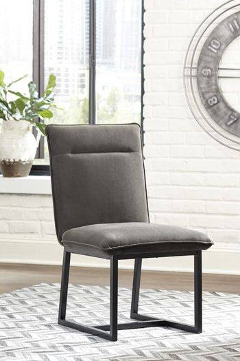 Ashley D600 101 Rozzelli Dining Chair Set Of 2 In Dark