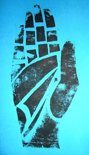 Mrs Crosbie: HANDS printmaking lesson
