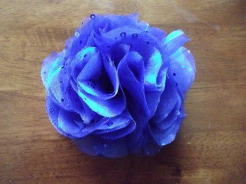 Organza Flower Frill