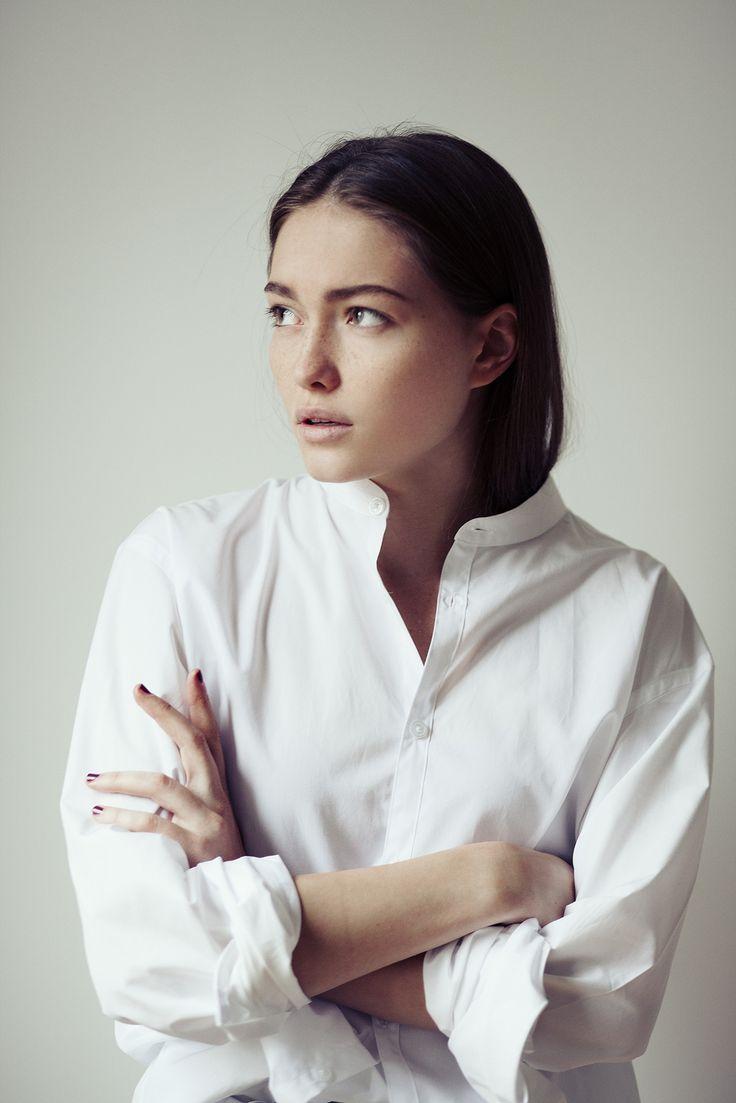 Minimal + Classic: A simple white shirt