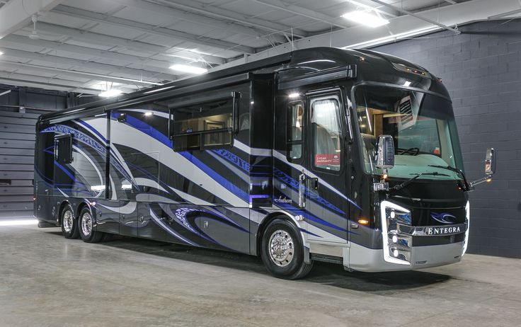 """ABSOLUTELY STUNNING MOTORHOME!!!  2017 Entegra Coach Anthem 44B Entertainment abounds with 3 interior TVs and even a 40"""" outdoor TV! With a private master bath and a half bath, this 44' 11"""" long, diesel motorhome is great for entertaining. A central vacuum system makes cleaning the lovely high gloss porcelain tile floor easy! A dishwasher is included too!  Give our Anthem expert Bob Wells a call 616-604-8129 for pricing and more information!"""