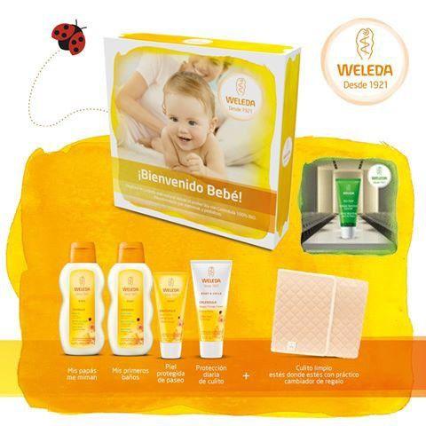 Weleda Set Bienvenido Bebé por 40€ en Admira Cosmetics