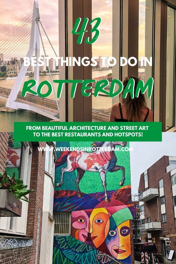 43 Best Things To Do In Rotterdam Rotterdam Netherlands Travel Things To Do