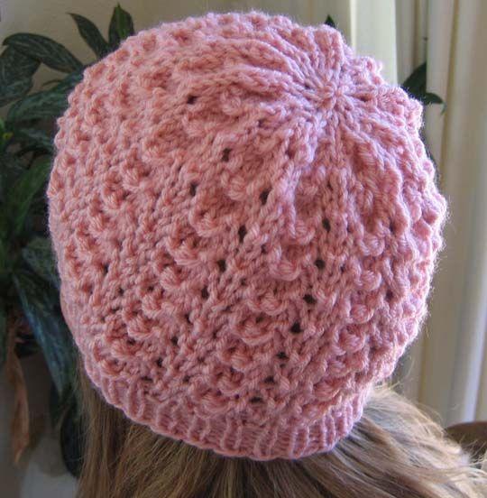 Chemo Cap Knitting Pattern